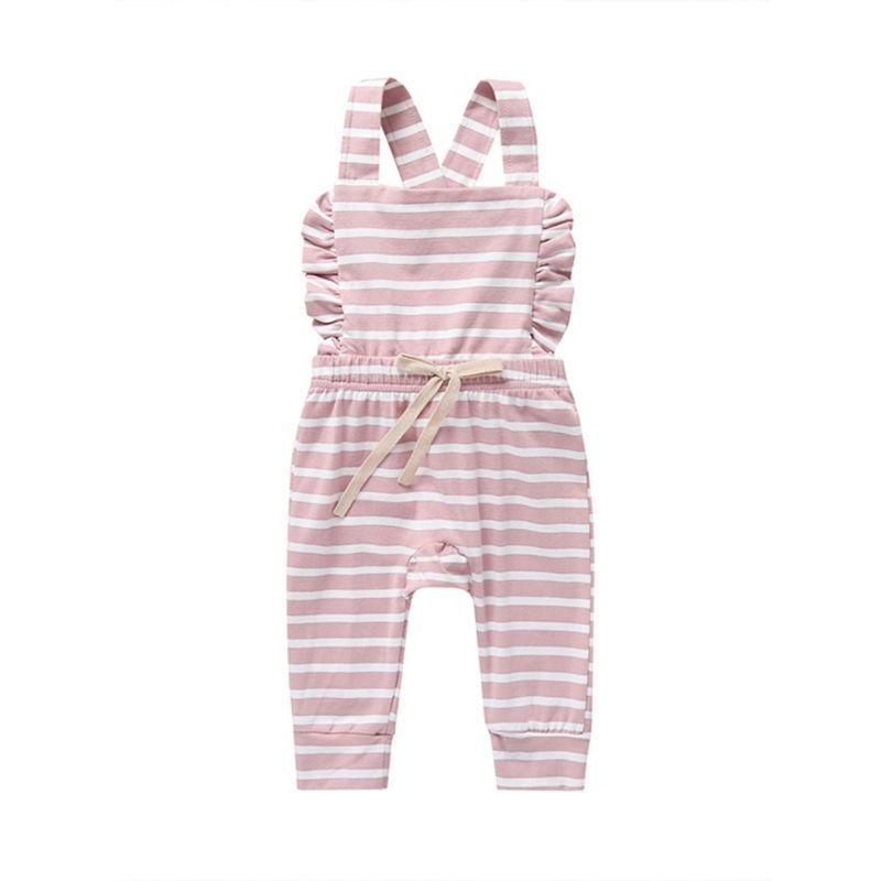 Baby Girl Ruffle Jumpsuit