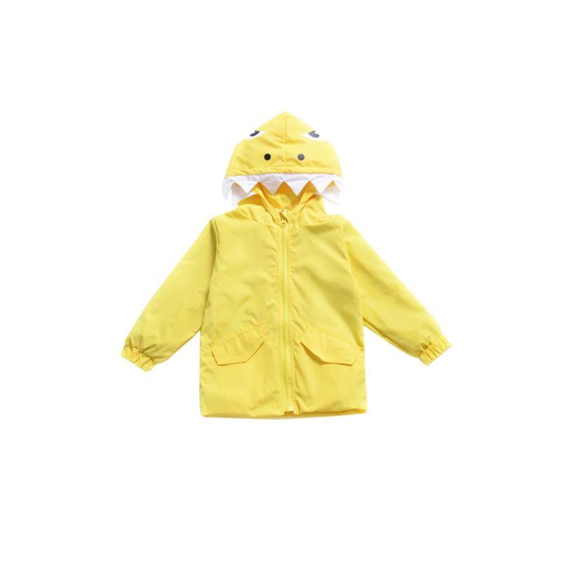 Cartoon Dinosaur Hooded Jacket