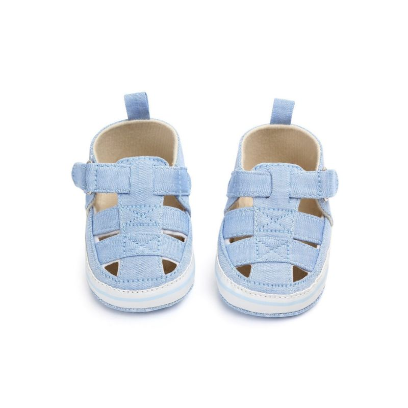 Solid Color Cloth First Start Crib Sandals