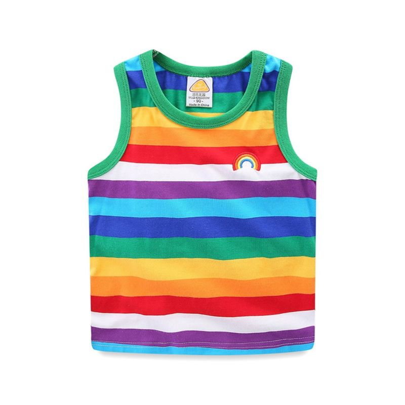 Rainbow Color Tank Top