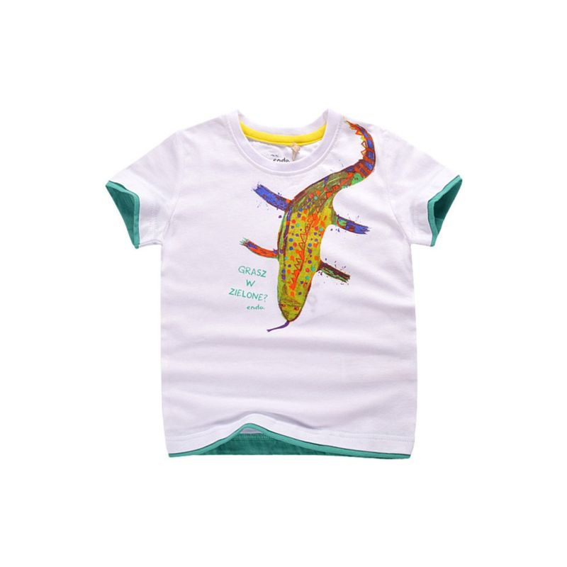 Toddler Big Boy Color-blocking T-shirt