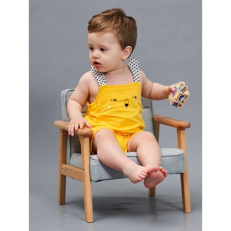 Cute Bunny Style Baby Shortalls