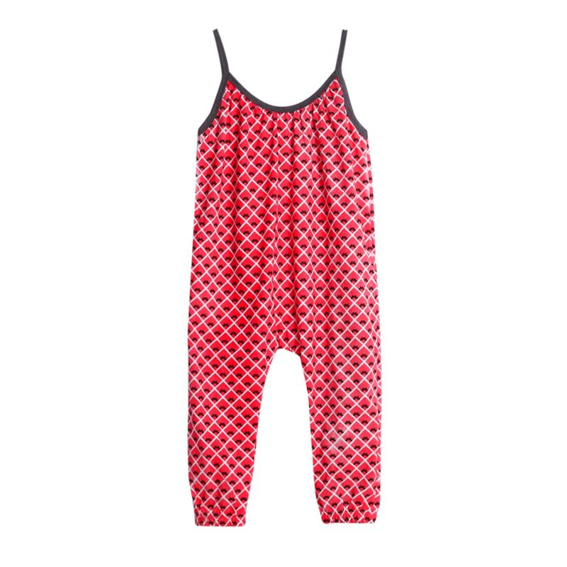 Fashion Allover Print Summer Jumpsuit