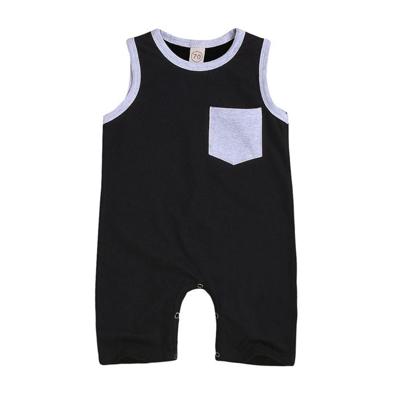 Summer Pocket Baby Jumpsuit