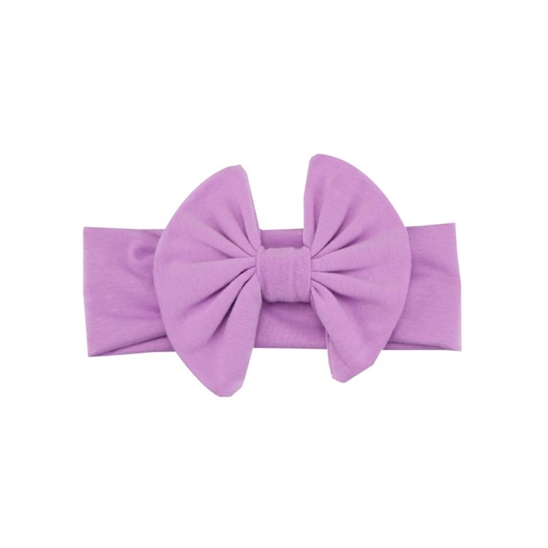 8-PACK Solid Color Big Bow Headband