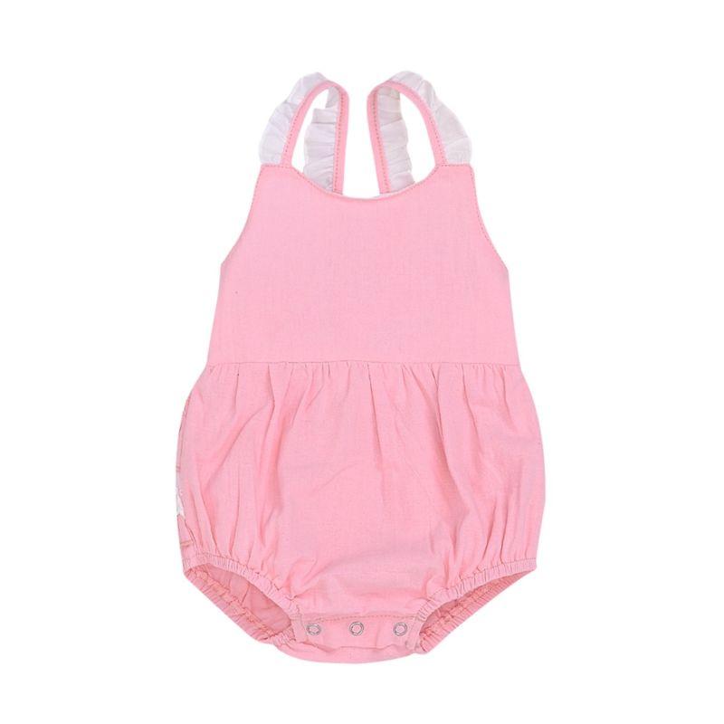 Baby Girl Ruffle Lace Bodysuit