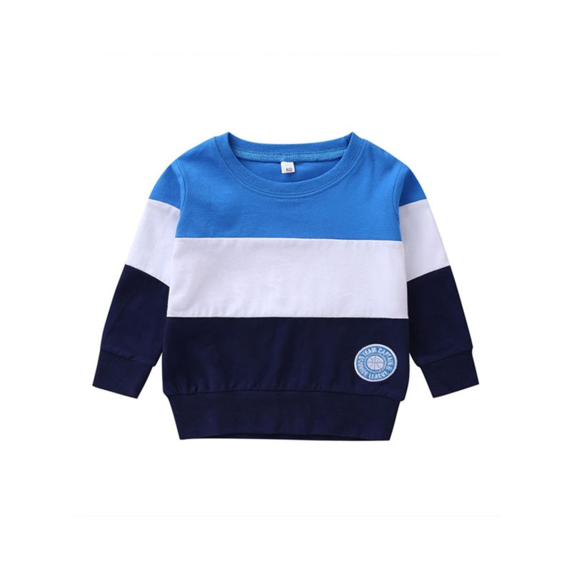 Baby Toddler Boy Color-blocking Pullover