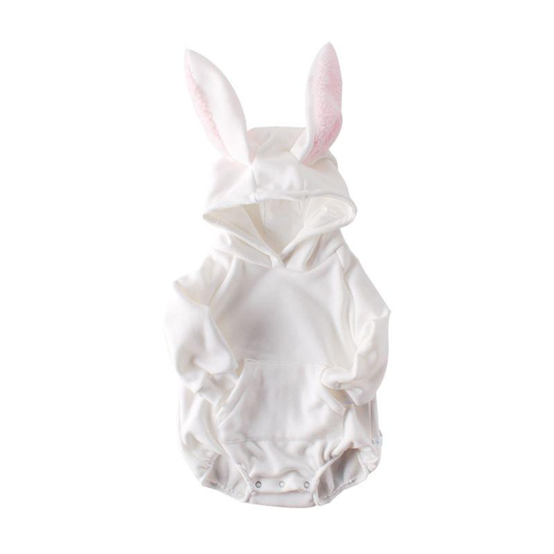 Autumn Baby Girl Bunny Style Romper