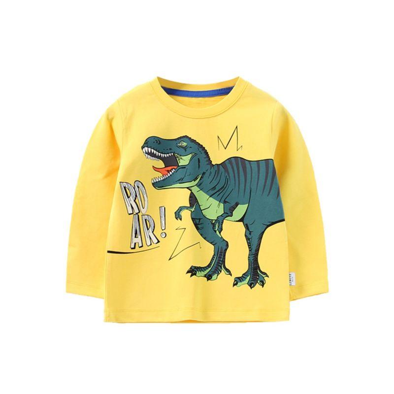 ROAR Dinosaur T-shirt Long-sleeved