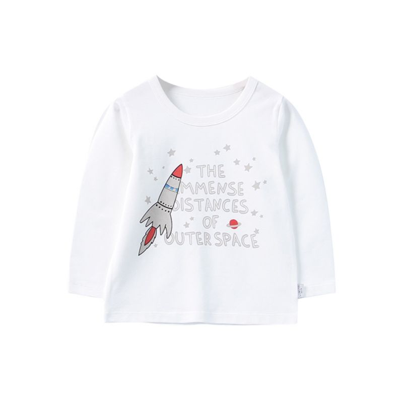 Outer Space Rock T-shirt Long-sleeved