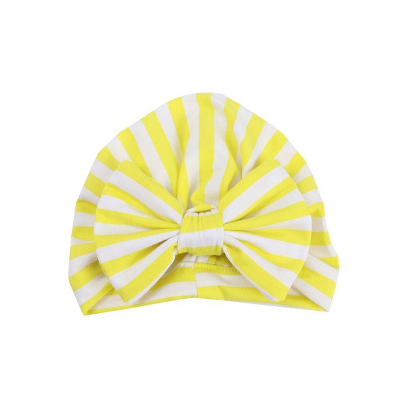 3-PACK Autumn Stripe Bow Turban Hat