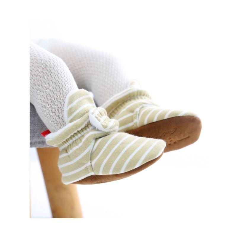 Winter Stripe Fleece-lined Pre-walker Shoes