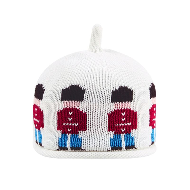 Fashion Baby Soldier Crochet Hat