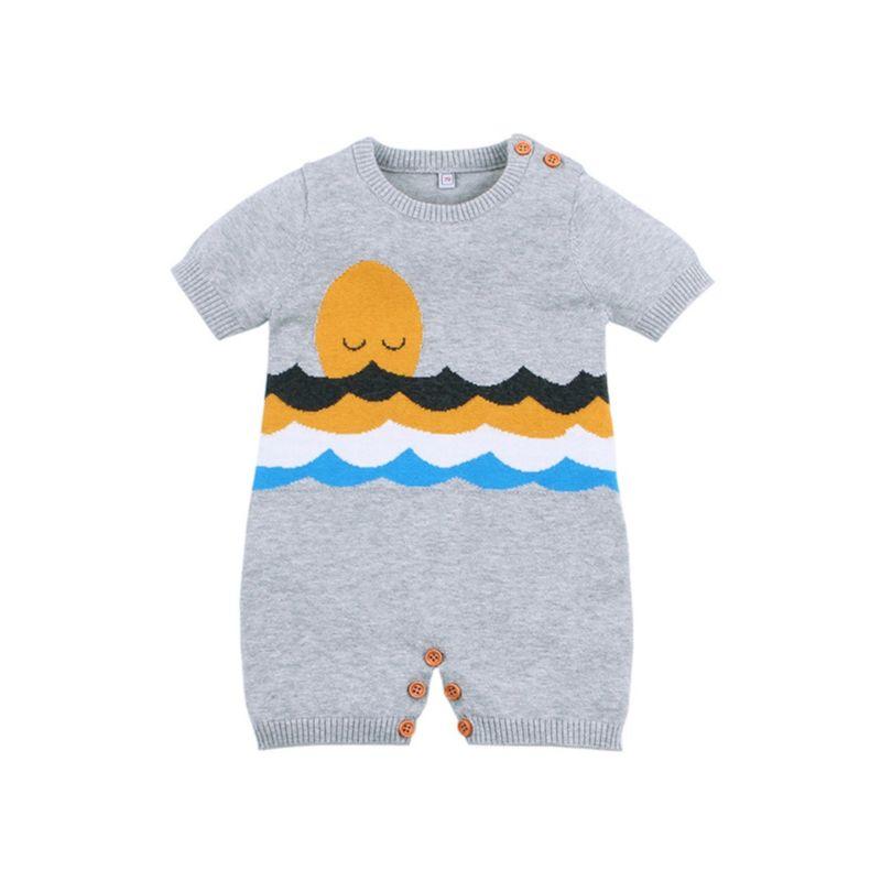 Sun Crochet Baby Jumpsuit