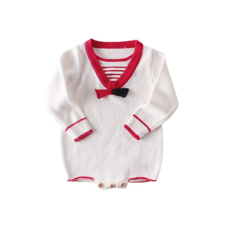 Autumn Baby Knitted Onesie