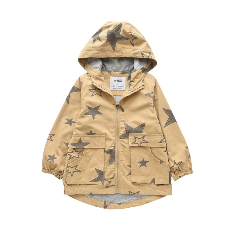 6-PACK Boys Star Hooded Jacket