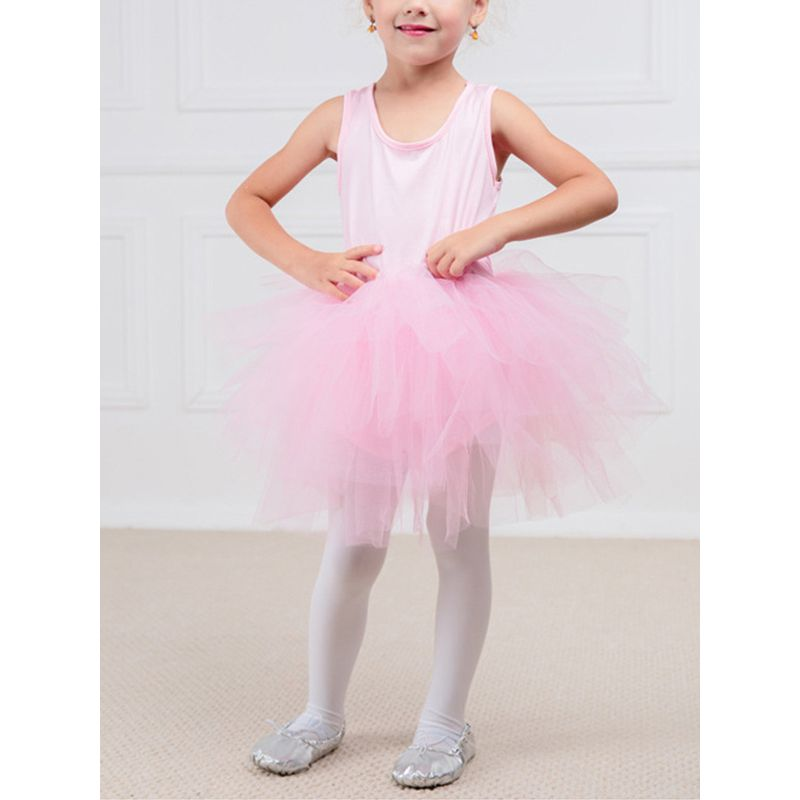Toddler Dancing Dress Preschooler Kindergarten Girls Ballerina Dress