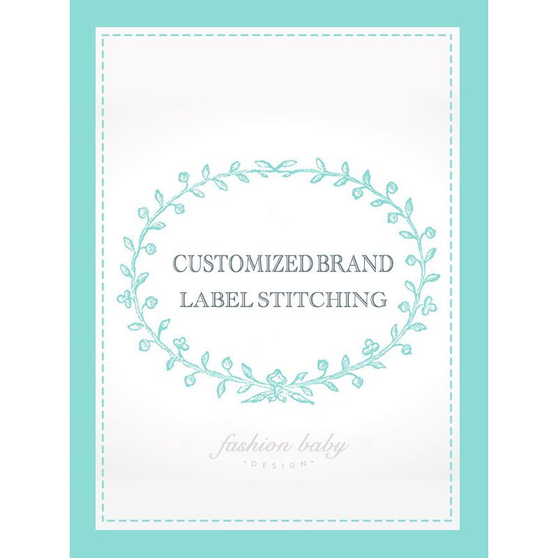 $0.25 STITCHING FEE for CUSTOMIZED BRAND LABELS