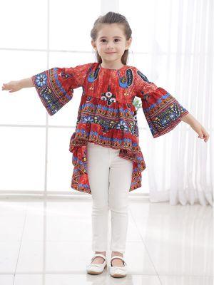 Wholesale Colorful Rainbow Pattern Tutu Skirt for  Wholesale Color...