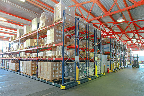 bulk products waiting for export